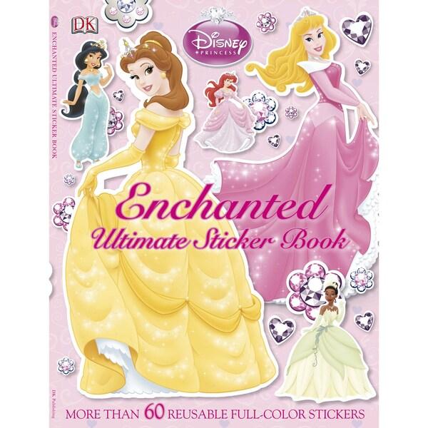 Disney Princess Enchanted Ultimate Sticker Book (Paperback)