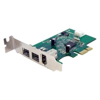 StarTech.com 3 Port 2b 1a Low Profile 1394 PCI Express FireWire Card