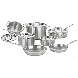 Cuisinart Multiclad Pro Stainless Steel 12-piece Cookware Set *with Rebate*