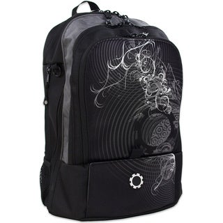 DadGear Concentric Circles Backpack Diaper Bag