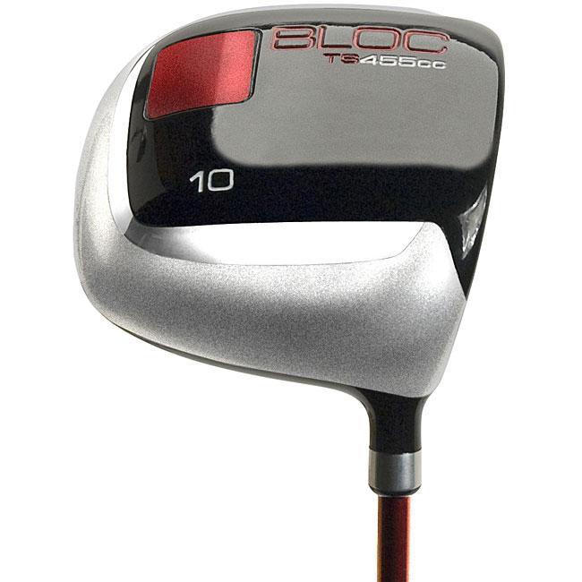 Bloc 455 Men's Innovative Square Graphite Golf Driver with Head Cover