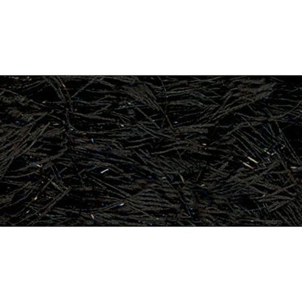 Lion Brand Black Festive Fur Yarn