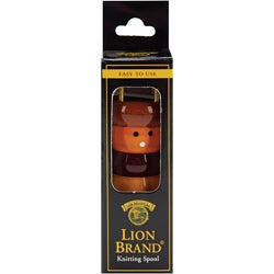 Lion Brand 7002 Children's French Lacquered Wood Spool Knitter