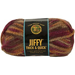 Lion Brand Jiffy Thick & Quick 5-oz Adirondacks Acrylic Yarn