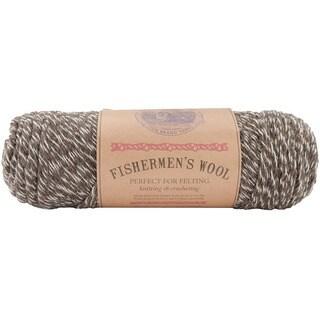 Lion Brand 'Fishermen's' 8-oz Maple Tweed Virgin Wool Yarn