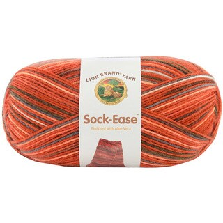 Lion Brand 'Sock-Ease' Red Hots Wool Blend Yarn