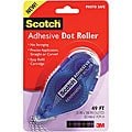 3M Scotch Permanent Adhesive Applicator Refillable Dot Roller