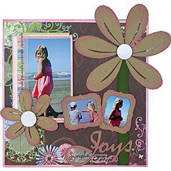 Simple Joys Canvas Wall Art Kit (12 x 12)