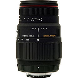 Sigma 70-300mm f4-5.6 DG APO Lens for Canon