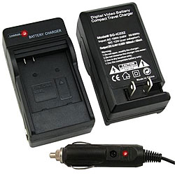 Compact Battery Charger Set for Canon NB-4L