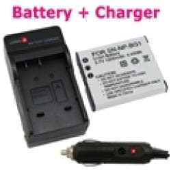 INSTEN Sony Cyber-Shot DSC-n1/ DSC-t100 Li-ion Battery and Charger Set
