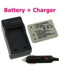 INSTEN Canon Powershot SD700 / SD850 Li-ion Battery and Charger Set