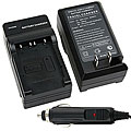 Sony NP-ft1 / FE1 / BG1 / DAV-fr1 Compact Battery Charger Set