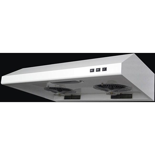 white 30 inch under cabinet range hood 12603784 shopping big discounts on. Black Bedroom Furniture Sets. Home Design Ideas