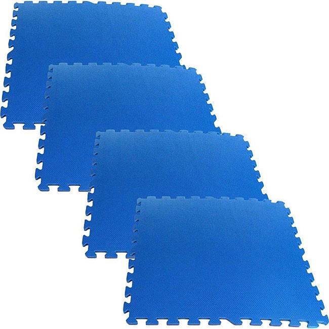 Ultimate Comfort 16-square-foot Blue Foam Flooring
