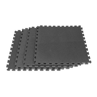 Ultimate Comfort 16-square-foot Black Foam Flooring