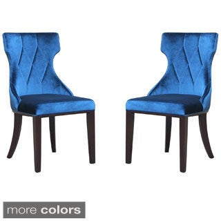 Regis Velvet Dining Chairs (Set of 2)