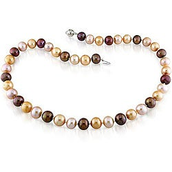 Miadora Multi-colored FW Pearl Strand (9-10 mm)