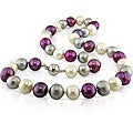 Miadora Multi-colored FW Pearl Necklace (10-11 mm)