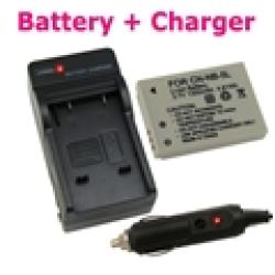 INSTEN Canon Camera/ Camcorder Lithium-ion Battery and Charger Kit