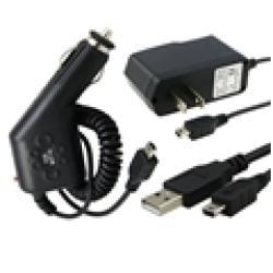 INSTEN Mini 5-pin Charger Kit for Blackberry/ Motorola