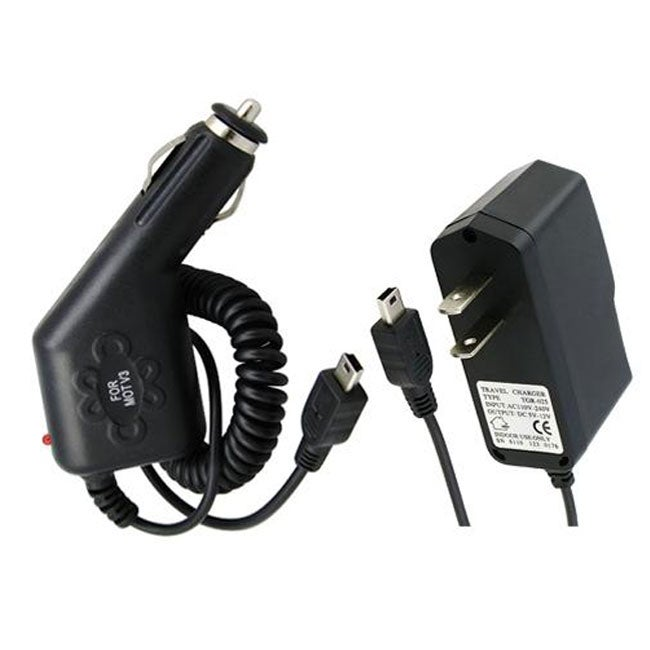 INSTEN Nuvi Car/ Wall Intelligent IC Chip Travel Charger Adapter Combo