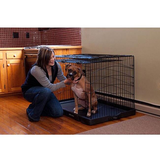 Travel-Lite Rolling Steel Pet Crate