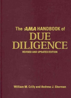 The AMA Handbook of Due Diligence
