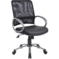 Boss Mesh Back Adjustable Task Chair