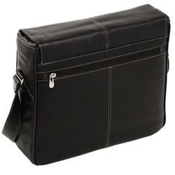 Siamod San Francesco Leather Unisex Multi-pocket Laptop Messenger Bag