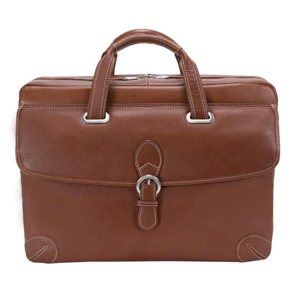 Siamod Women's Fontanella Large Leather Laptop Briefcase