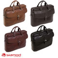 Siamod Women's Como Medium Leather Laptop Briefcase