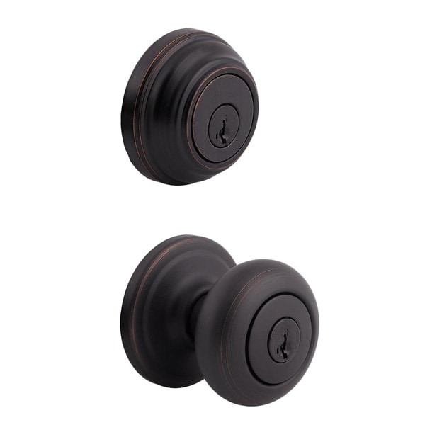 Kwikset Venetian Bronze Door Lock