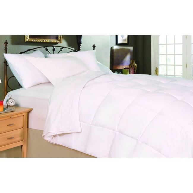 oversized lightweight king size down alternative comforter. Black Bedroom Furniture Sets. Home Design Ideas
