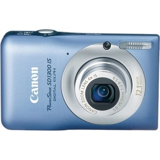 Canon PowerShot SD1300 IS 12.1 Megapixel Compact Camera - 5 mm-20 mm