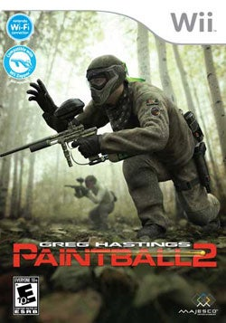Wii - Greg Hastings' Paintball 2- By Majesco