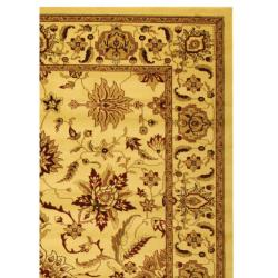 Lyndhurst Collection Heritage Ivory/ Ivory Rug (9' x 12')
