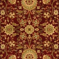 Lyndhurst Collection Majestic Red/ Ivory Rug (9' x 12')