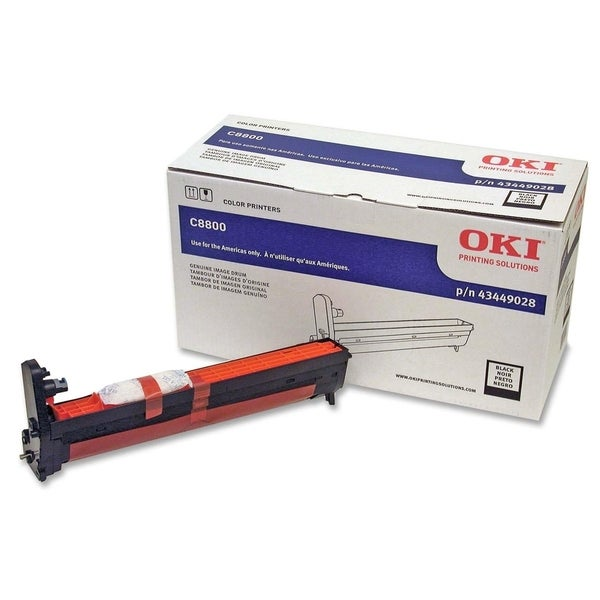 Oki Black Image Drum For C8800 Series Printers