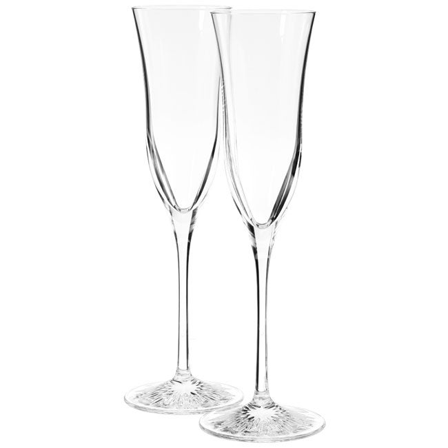Waterford Crystal 'Clearly Waterford' Flutes (Set of 2)