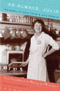 As Always, Julia: The Letters of Julia Child and Avis DeVoto: Food, Friendship, and the Making of a Masterpiece (Hardcover)