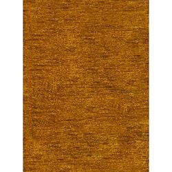 Safavieh Hand-knotted Vegetable Dye Solo Carmel Hemp Runner (2'6 x 8')