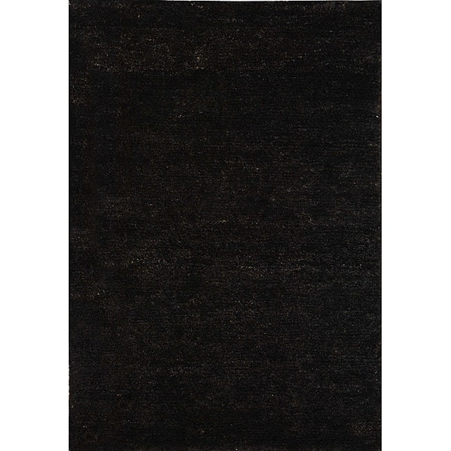 Safavieh Hand-knotted Vegetable Dye Solo Liquorice Hemp Rug (2'6 x 10')