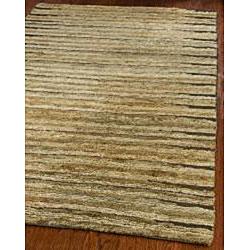 Safavieh Hand-knotted All-Natural Fields Beige Hemp Runner (2'6 x 10')