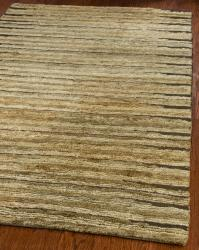 Safavieh Hand-knotted All-Natural Fields Beige Hemp Rug (4' x 6')