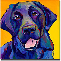 Pat Saunders-White 'Buddy' Ready to Hang Giclee Art