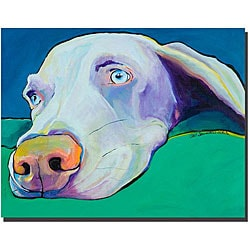 Pat Saunders 'Fritz' Gallery-wrapped Canvas Art
