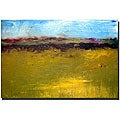 Calkins 'Abstract Landscape, The Highways Series' Gallery-wrapped Art