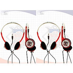 Nemo Digital MLF10116BS Overhead Boston Red Sox Headphones (Set of 2)