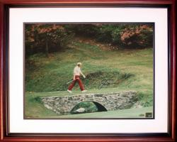 Jack Nicklaus 1972 Masters Bridge to 13th Green Photo